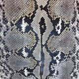 Snake skin python pattern textile texture Stock Photo