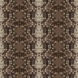 Snake skin reptile seamless pattern Royalty Free Stock Photo