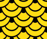 Snake skin seamless pattern background. Golden snake skin seamless pattern background. Yellow and black circles create a beautiful texture for every background Stock Image