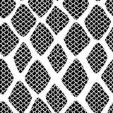 Snake skin seamless pattern illustration royalty free illustration