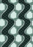 Snake Skin Seamless Pattern stock illustration