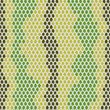 Snake skin seamless pattern. Vector background Leather  reptiles.  Stock Image