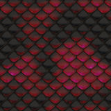 Snake Skin Texture. Abstract illustration of snake skin texture as background Royalty Free Stock Photos