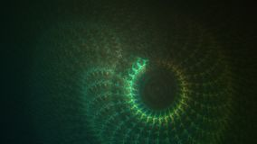 Snake skin texture effect fractal background.  Stock Images