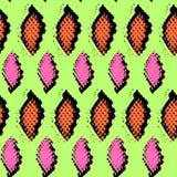 Snake skin texture. Seamless pattern black pink Royalty Free Stock Image