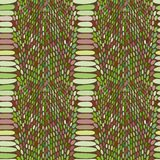 Snake skin texture. Seamless pattern black on white background. Vector Stock Photos