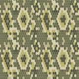Snake skin texture. Seamless pattern python. Royalty Free Stock Photos