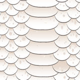 Snake skin texture. Seamless pattern white Stock Photos