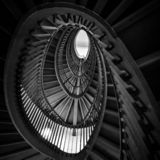 Snake Stairs stock photography