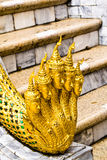 Snake statues. Snake statues at Wat Phra Kaew, Bangkok, Thailand Stock Photo