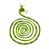 Snake, symbol of chinese new year 2013 Stock Image