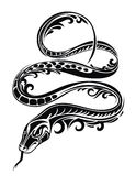 Snake  tattoo Royalty Free Stock Images