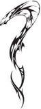 Snake-Tattoo. Picture of cobra, for tatu salons Stock Image