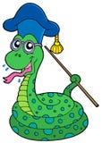 Snake teacher Stock Photography