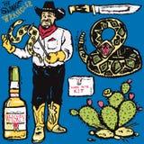 The Snake Wrangler Stock Photo
