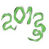 Snake year. Illustration of snake year 2013 Stock Photos