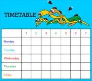 snakes расписание Стоковое Изображение RF