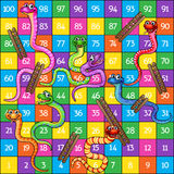 Snakes and Ladders Stock Photography