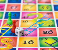 Snakes and ladders Royalty Free Stock Photos