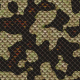 Snakeskin. Seamless Tileable Scale Texture Royalty Free Stock Photography