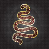 Snaketreeornament Stock Photos