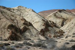 Snaking geological formation of Chile Royalty Free Stock Photo