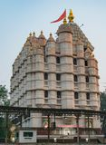 Siddhivinayak temple at Mumbai close view from out side. royalty free stock image