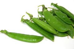 snap pea royalty free stock photo