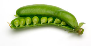 Snap peas Royalty Free Stock Images