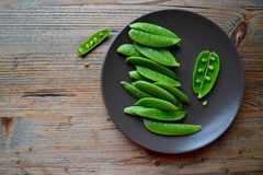 Snap peas Royalty Free Stock Photography