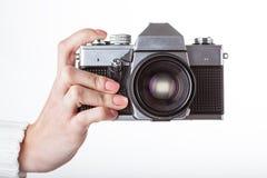 Snap a photo Stock Photos