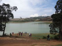 Lake view near by national high. This snap is from tea ooty india. Awesome tourist place that you always love that is so awesome Stock Photo