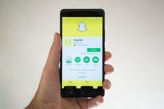 Snapchat Fotografia Royalty Free