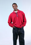 Snappy Dresser. Full length of handsome African-American teen boy Stock Photography