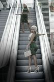 Snapshot, Escalator, Girl, Fun