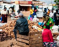 Everyday Life in Uganda Royalty Free Stock Photography