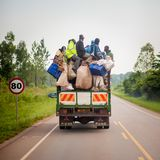 Everyday Life in Uganda Stock Images
