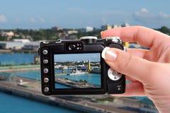 Snapshot of Nassau port Royalty Free Stock Photography