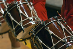 Snare drum. Parade snare drum equimpent of  majorette Royalty Free Stock Photo