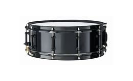 Snare Drum. Black Snare Drum isolated over white royalty free stock photography