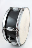 Snare drum. On a white background (shallow depth of field Stock Image