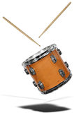 Snare Drum floating Royalty Free Stock Images