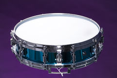 Snare Drum Isolated on Purple Royalty Free Stock Images