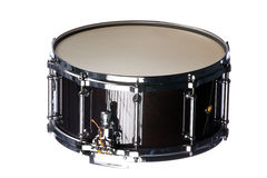 Snare Drum Isolated on White Royalty Free Stock Photos