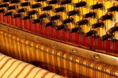 Snaren van de piano Royalty-vrije Stock Fotografie