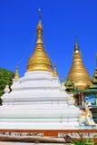 Snart Oo Ponya Shin Pagoda, Sagaing, Myanmar Royaltyfria Foton