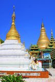 Snart Oo Ponya Shin Pagoda, Sagaing, Myanmar Royaltyfria Bilder