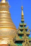Snart Oo Ponya Shin Pagoda, Sagaing, Myanmar Royaltyfri Fotografi