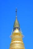 Snart Oo Ponya Shin Pagoda, Sagaing, Myanmar Royaltyfri Bild