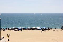 Snata Monica plaża, San Diego Kalifornia, usa obrazy stock